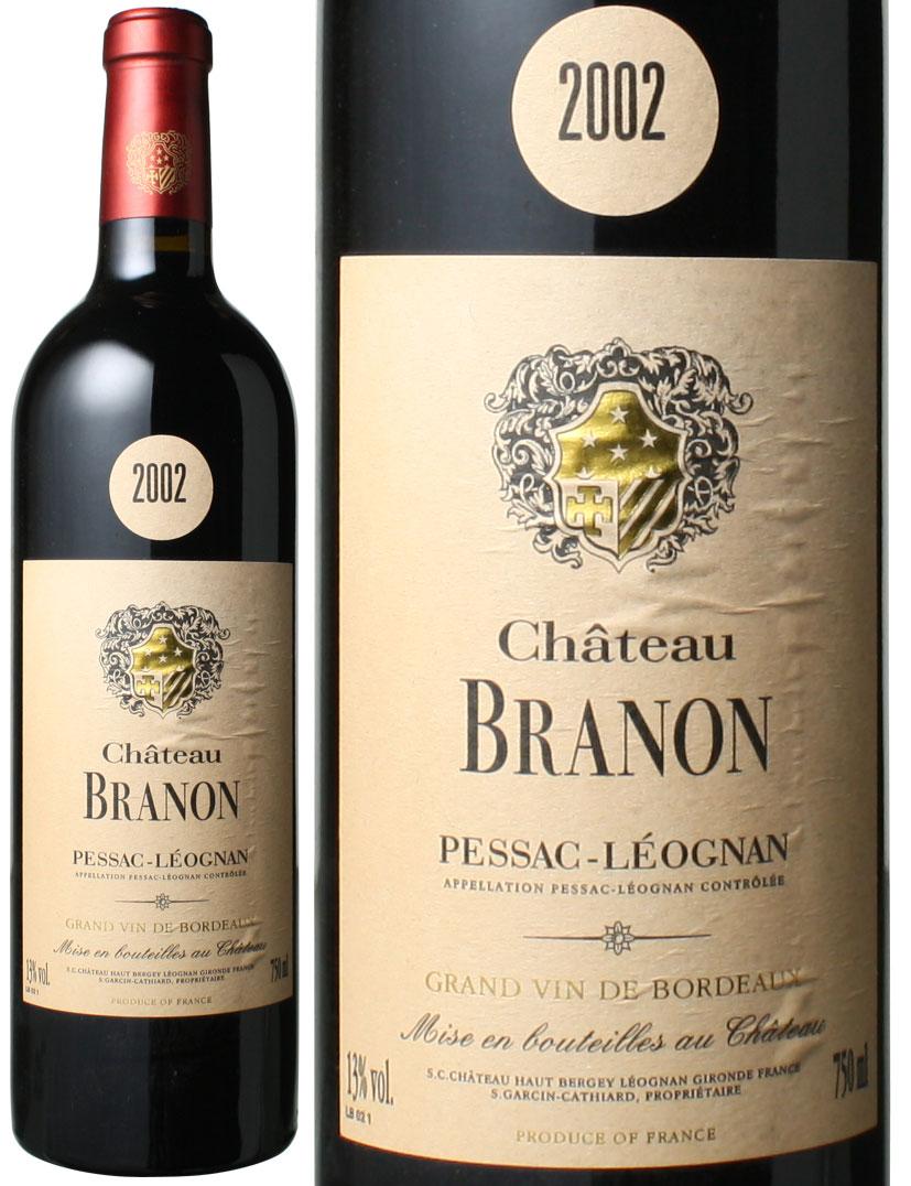 シャトー・ブラノン [2002] <赤> <ワイン/ボルドー>