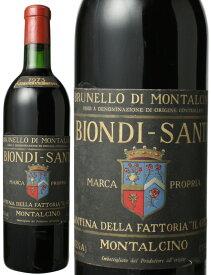 ブルネッロ・ディ・モンタルチーノ  [1973] ビオンディ・サンティ <赤> <ワイン/イタリア>