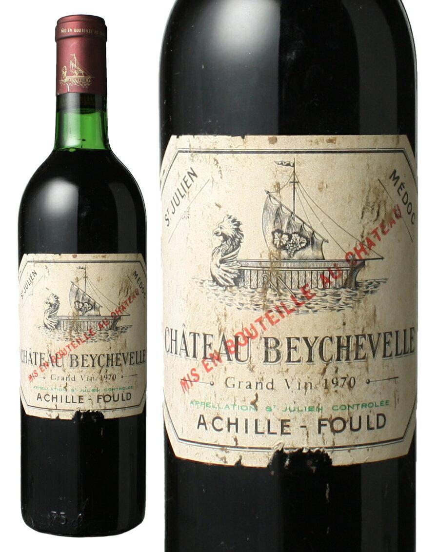 シャトー・ベイシュヴェル [1970] <赤> <ワイン/ボルドー>