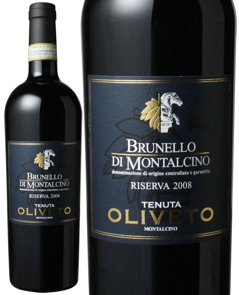 ブルネッロ・ディ・モンタルチーノ リゼルヴァ [2008] テヌータ・オリヴェート <赤> <ワイン/イタリア>