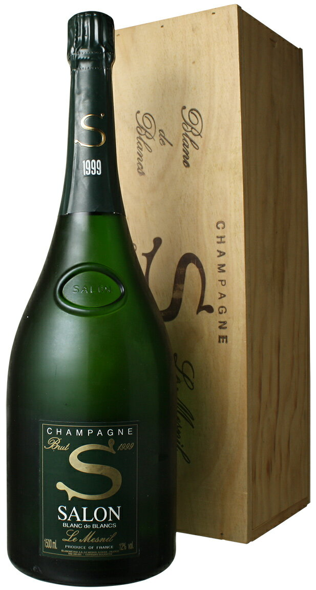 サロン ブラン・ド・ブラン マグナム1.5L [1999] <白> <ワイン/シャンパン>