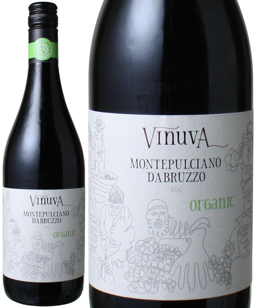 モンテプルチアーノ・ダブルッツォ オーガニック [2016] ヴィヌーヴァ <赤> <ワイン/イタリア>