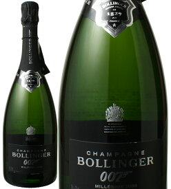 【12月度プレミアム特価】ボランジェ 007 スペクター・リミテッド・エディション 箱なし [2009] <白> <ワイン/シャンパン>