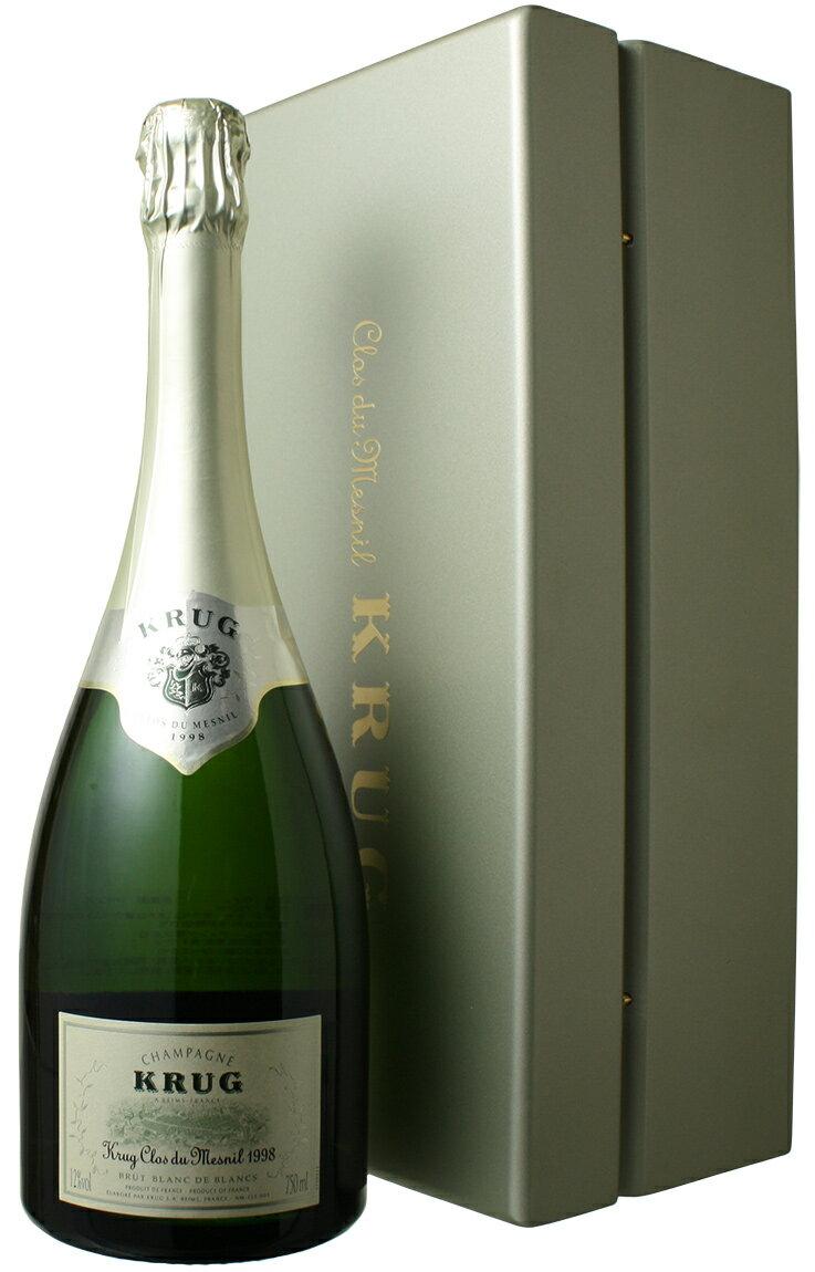 クリュッグ クロ・デュ・メニル [1998] <白> <ワイン/シャンパン>