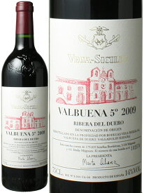 バルブエナ シンコアニョ [2009] ヴェガ・シシリア <赤> <ワイン/スペイン>
