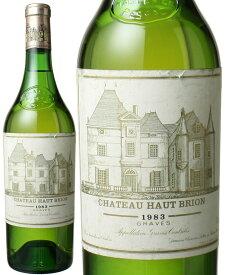 シャトー・オー・ブリオン ブラン [1983] <白> <ワイン/ボルドー>