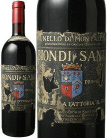 ブルネッロ・ディ・モンタルチーノ [1978] ビオンディ・サンティ <赤> <ワイン/イタリア>