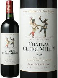 シャトー・クレール・ミロン [2009] <赤> <ワイン/ボルドー>