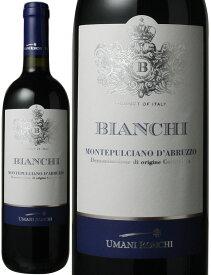 ビアンキ・モンテプルチアーノ・ダブルッツォ [2018] ウマニ・ロンキ <赤> <ワイン/イタリア>