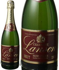 【10%OFFセール】ランソン ブリュット ミレジム [1976] <白> <ワイン/シャンパン>【当店通常税込71280円】