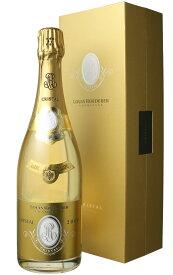 ルイ・ロデレール クリスタル・ブリュット ギフトボックス入り 正規品 [2008] <白> <ワイン/シャンパン>