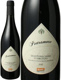 モンテプルチアーノ・ダブルッツォ [2015] ピエトラモーレ <赤> <ワイン/イタリア>