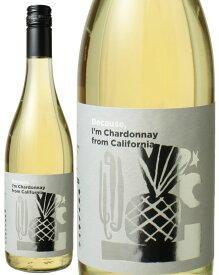 ビコーズ アイム シャルドネ フロム カリフォルニア [2018] <白> <ワイン/アメリカ>※ヴィンテージが異なる場合があります。