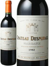 シャトー・デスミライユ [1982] <赤> <ワイン/ボルドー>