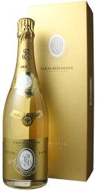 ルイ・ロデレール クリスタル・ブリュット ギフトボックス入り [2008] <白> <ワイン/シャンパン>