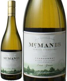 マックマニス シャルドネ [2020] マックマニス・ファミリー・ヴィンヤード <白> <ワイン/アメリカ> ※ヴィンテージが異なる場合があります。