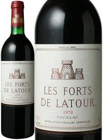 レ・フォール・ド・ラトゥール [1978] <赤> <ワイン/ボルドー>