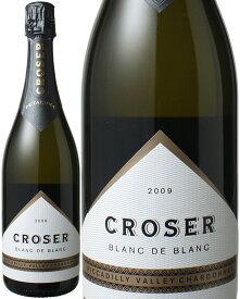 【歳末スペシャルセール】クローサー・ブラン・ド・ブラン [2009] ブライアン・クローサー <白> <ワイン/スパークリング>【当店通常税込3278円】