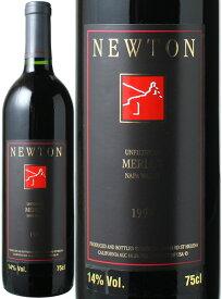 ニュートン アンフィルタード メルロー [1997] ニュートン・ヴィンヤーズ <赤> <ワイン/アメリカ>