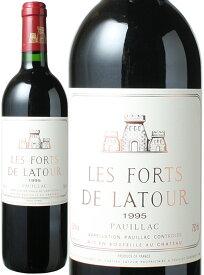 レ・フォール・ド・ラトゥール [1995] <赤> <ワイン/ボルドー>