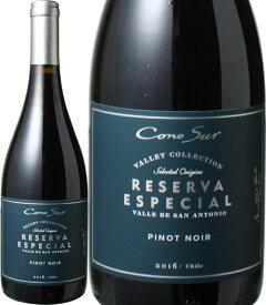 コノスル ピノノワール レゼルバ ヴァレーコレクション [2018] <赤> <ワイン/チリ> ※ラベルデザインが異なる場合がございます