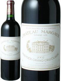 シャトー・マルゴー [2002] <赤> <ワイン/ボルドー>