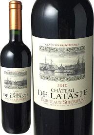 【スーパーSALE限定40%OFF】シャトー・ド・ラタスト [2010] <赤> <ワイン/ボルドー>