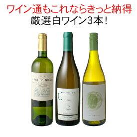 【送料無料】ワインセット 厳選 白ワイン 3本 セット シャブリ マルケ ジュラ ワイン通の方もきっと納得白 第14弾