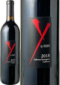 X-JAPAN YOSHIKIのコラボワイン! ワイ・バイ・ヨシキ カベルネ・ソーヴィニヨン [2018] ワイ・バイ・ヨシキ <赤> <ワイン/アメリカ>※画像は以前のヴィンテージのものです