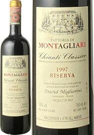 キャンティ・クラシコ・リゼルヴァ [1997] モンタリアーリ <赤> <ワイン/イタリア>