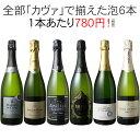【送料無料】ワインセット カヴァ 6本 セット 辛口 シャンパン製法 瓶内二次発酵 スパークリングワイン カヴァだけ 第…