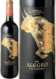 アレグロ グラン・レゼルヴァ [2010] クリアドーレス・デ・リオハ <赤> <ワイン/スペイン>