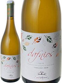 ダフニオス・ホワイト [2018] ドゥルファキス・ワイナリー <白> <ワイン/ギリシャ>