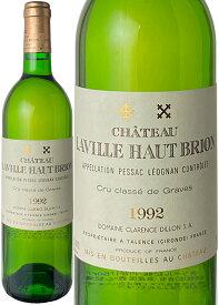 【プレミアム特価】シャトー・ラヴィル・オー・ブリオン [1992] グラーヴ特選銘柄 <白> <ワイン/ボルドー>