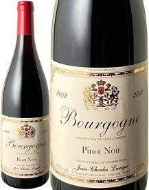 ブルゴーニュ・ピノ・ノワール [2002] ジャン・シャルル・ルクイエ <赤> <ワイン/ブルゴーニュ>
