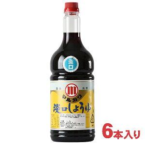 マルカワ淡口(うすくち)醤油 1.8L×6本入り 【たまりや 岐阜・山川醸造】 1800ml