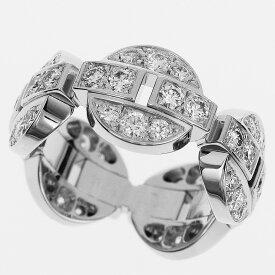 Cartier カルティエ ダイヤ イマリア リング 750 K18 WG ホワイトゴールド 日本サイズ約7号 #47【送料無料】【代引き手数料無料】指輪 レディース【中古】32290442
