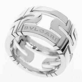 BVLGARI ブルガリ パレンテシ オープンワーク リング 日本サイズ約10号 #50 750 K18 WG ホワイトゴールド Made In Italy【送料無料】【代引き手数料無料】指輪 レディース【中古】32520601