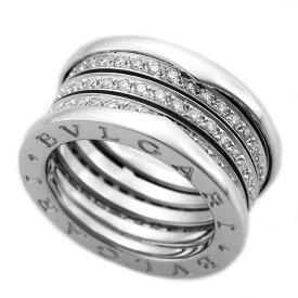 BVLGARI ブルガリ ダイヤモンド(0.92ct) B-ZERO1 ビーゼロワン 4バンド リング 328699 サイズ約12号 #52 750 K18 WG ホワイトゴールド イタリア【送料無料】【代引き手数料無料】指輪【中古】21280414