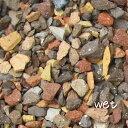 (8/17以降発送)60kg レンガの砂利 ミックスクラッシュブリック(20kg×3袋)5cm厚で約1平米分(1m×1m程度)(北海道・九州…