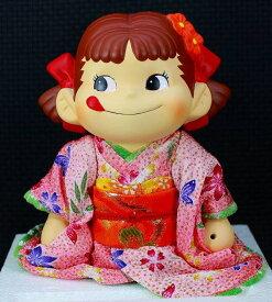 ペコちゃん2005 ひなまつり着物ペコちゃん人形「桜花爛漫」【未使用】