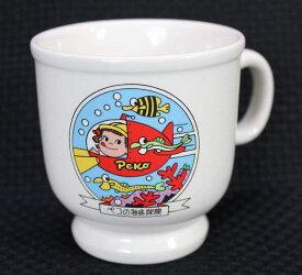ペコちゃんマグカップ型プリンカップペコの海底探検【未使用】