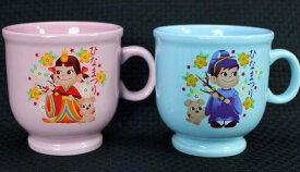 ペコちゃんマグカップ型プリンカップひなまつりA【未使用】
