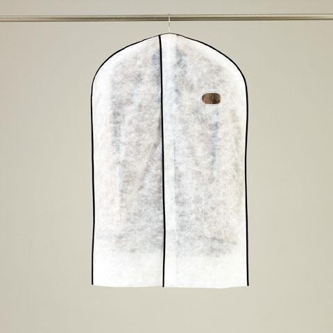 オール不織布タイプ 合わせ洋服カバースーツ・ジャケットサイズ 3枚入【FA474】