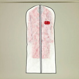 オール不織布タイプ センターファスナー洋服カバーコート・ワンピースサイズ 2枚入【KS155】