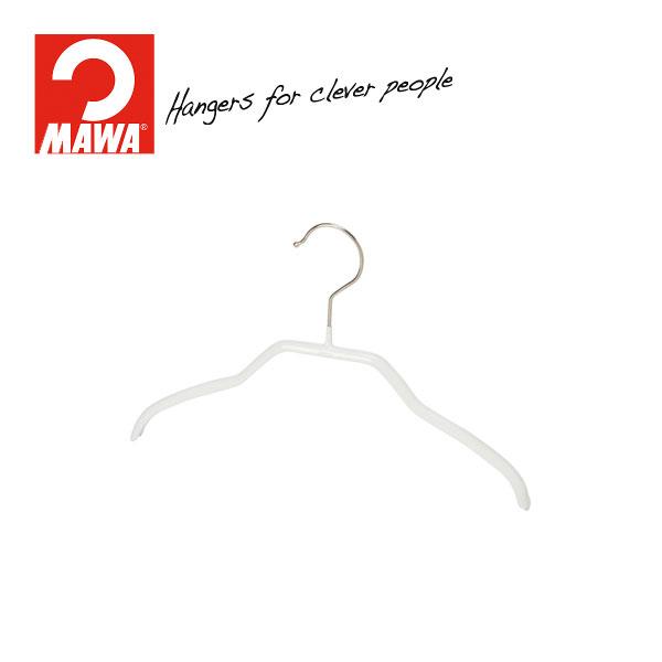 MAWAハンガー(マワハンガー)シルエット 28F ホワイト 10本セット