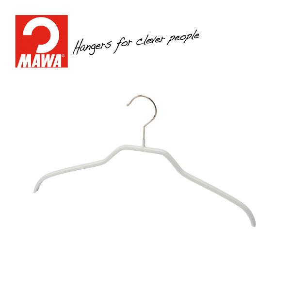 MAWAハンガー(マワハンガー)シルエット 36F ホワイト 10本セット