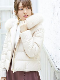 [Rakuten Fashion]ポケットビジューショートダウンコート MISCH MASCH ミッシュ マッシュ コート/ジャケット ダウンジャケット ベージュ ブラック ピンク【送料無料】