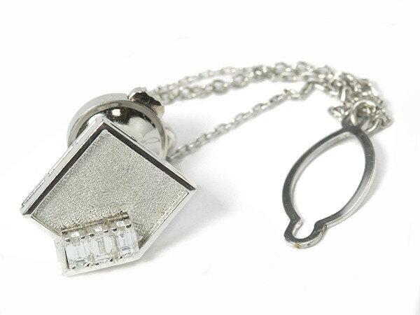 ダイヤモンド付きネクタイピン 0.31ct Pm900 3.1g プラチナ!03069【中古】