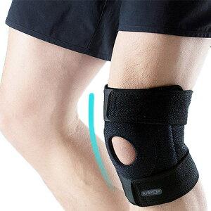 【送料無料】AIRPOP 膝サポーター スポーツ膝パッド ひざサポーター 膝固定 怪我防止 膝保護 運動用 サイズ調整 ランニング、ボールスポーツ、膝保護 左右通用 男女通用